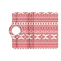 Fancy Tribal Borders Pink Kindle Fire Hd (2013) Flip 360 Case
