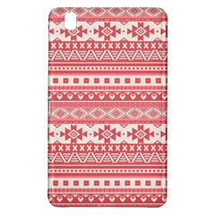 Fancy Tribal Borders Pink Samsung Galaxy Tab Pro 8 4 Hardshell Case