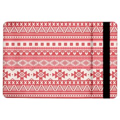 Fancy Tribal Borders Pink iPad Air 2 Flip