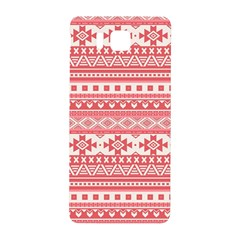 Fancy Tribal Borders Pink Samsung Galaxy Alpha Hardshell Back Case