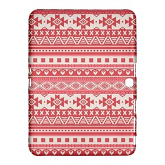 Fancy Tribal Borders Pink Samsung Galaxy Tab 4 (10.1 ) Hardshell Case