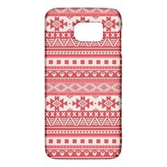 Fancy Tribal Borders Pink Galaxy S6