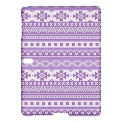 Fancy Tribal Borders Lilac Samsung Galaxy Tab S (10.5 ) Hardshell Case