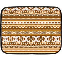 Fancy Tribal Borders Golden Fleece Blanket (Mini)