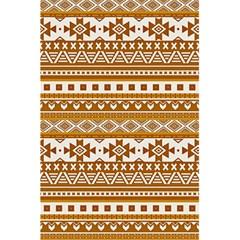 Fancy Tribal Borders Golden 5 5  X 8 5  Notebooks