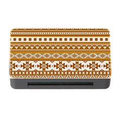 Fancy Tribal Borders Golden Memory Card Reader with CF