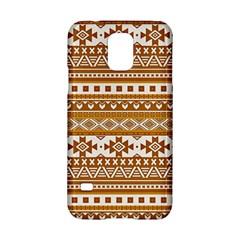 Fancy Tribal Borders Golden Samsung Galaxy S5 Hardshell Case