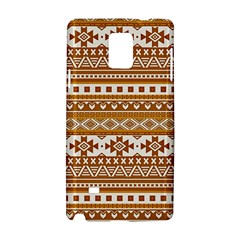 Fancy Tribal Borders Golden Samsung Galaxy Note 4 Hardshell Case