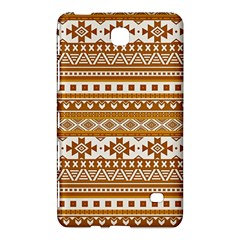 Fancy Tribal Borders Golden Samsung Galaxy Tab 4 (8 ) Hardshell Case