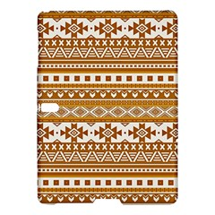 Fancy Tribal Borders Golden Samsung Galaxy Tab S (10.5 ) Hardshell Case