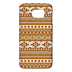 Fancy Tribal Borders Golden Galaxy S6