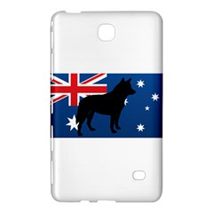 Australian Cattle Dog Silhouette on Australia Flag Samsung Galaxy Tab 4 (8 ) Hardshell Case
