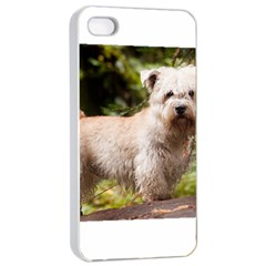 Glen Of Imaal Full wheaton Apple iPhone 4/4s Seamless Case (White)