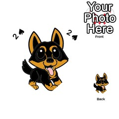 Lancashire Heeler Cartoon Playing Cards 54 (Heart)