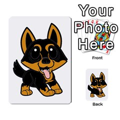 Lancashire Heeler Cartoon Multi-purpose Cards (Rectangle)