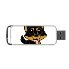 Lancashire Heeler Cartoon Portable USB Flash (One Side)
