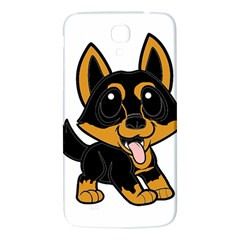 Lancashire Heeler Cartoon Samsung Galaxy Mega I9200 Hardshell Back Case