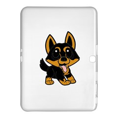 Lancashire Heeler Cartoon Samsung Galaxy Tab 4 (10.1 ) Hardshell Case