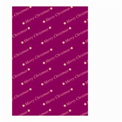 Merry Christmas,text,bordeaux Small Garden Flag (two Sides)
