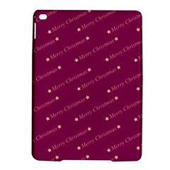 Merry Christmas,text,bordeaux Ipad Air 2 Hardshell Cases
