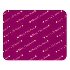 Merry Christmas,text,bordeaux Double Sided Flano Blanket (Large)