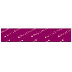 Merry Christmas,text,bordeaux Flano Scarf (Large)