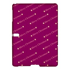 Merry Christmas,text,bordeaux Samsung Galaxy Tab S (10 5 ) Hardshell Case