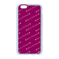 Merry Christmas,text,bordeaux Apple Seamless iPhone 6 Case (Color)
