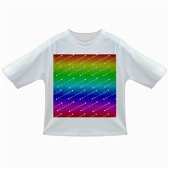 Merry Christmas,text,rainbow Infant/toddler T Shirts