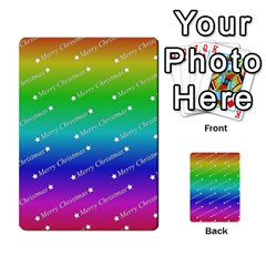 Merry Christmas,text,rainbow Multi-purpose Cards (Rectangle)