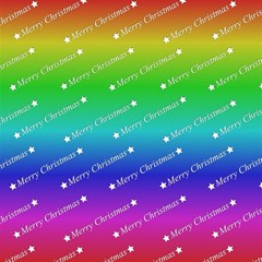 Merry Christmas,text,rainbow Magic Photo Cubes