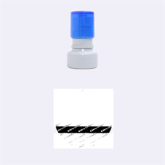 Merry Christmas,text,rainbow Rubber Round Stamps (Small)