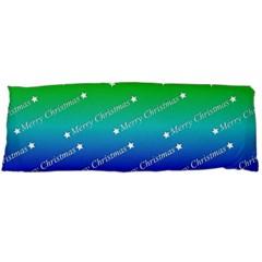 Merry Christmas,text,rainbow Body Pillow Cases Dakimakura (Two Sides)