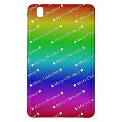 Merry Christmas,text,rainbow Samsung Galaxy Tab Pro 8 4 Hardshell Case