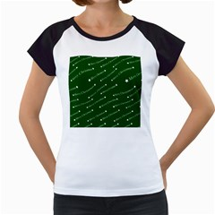 Merry Christmas,text,green Women s Cap Sleeve T
