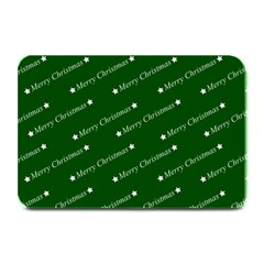 Merry Christmas,text,green Plate Mats