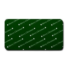 Merry Christmas,text,green Medium Bar Mats
