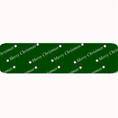 Merry Christmas,text,green Large Bar Mats
