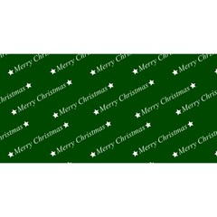 Merry Christmas,text,green You Are Invited 3d Greeting Card (8x4)