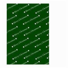 Merry Christmas,text,green Small Garden Flag (Two Sides)