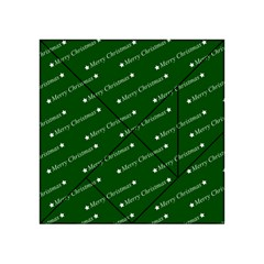 Merry Christmas,text,green Acrylic Tangram Puzzle (4  x 4 )