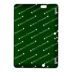 Merry Christmas,text,green Kindle Fire Hdx 8 9  Hardshell Case