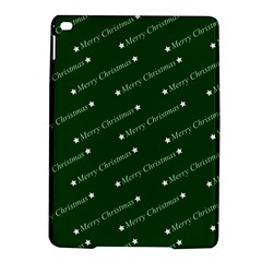 Merry Christmas,text,green iPad Air 2 Hardshell Cases