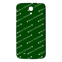 Merry Christmas,text,green Samsung Galaxy Mega I9200 Hardshell Back Case
