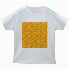 Many Stars, Golden Kids White T-Shirts
