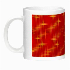 Many Stars,red Night Luminous Mugs