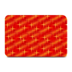 Many Stars,red Plate Mats