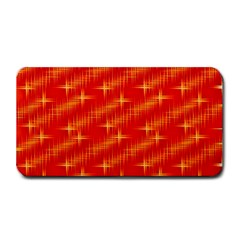 Many Stars,red Medium Bar Mats
