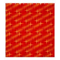 Many Stars,red Shower Curtain 66  x 72  (Large)