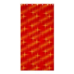 Many Stars,red Shower Curtain 36  x 72  (Stall)